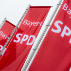 SPD-Flaggen